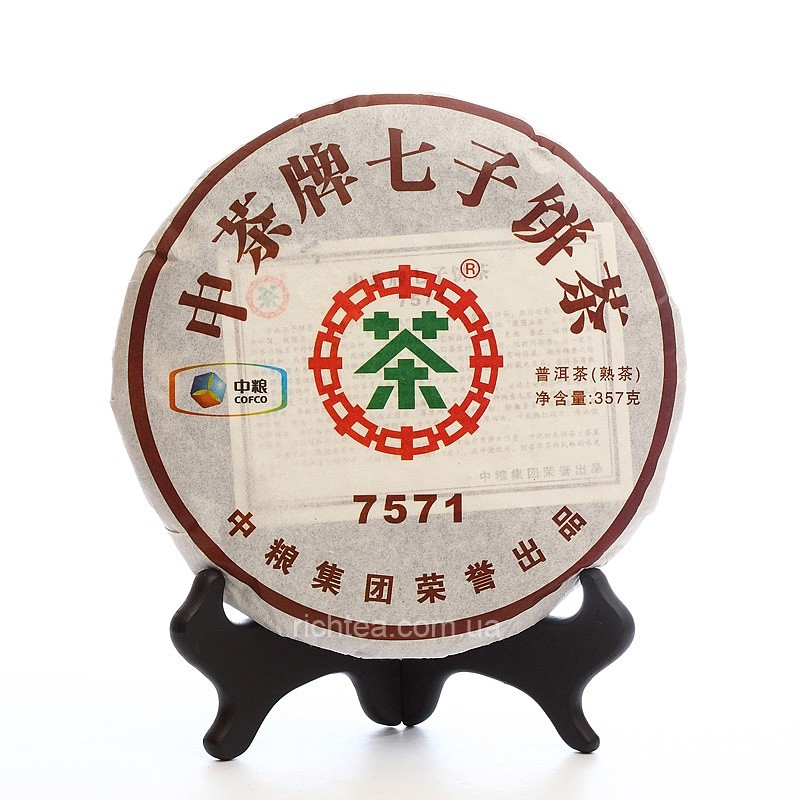 "Пуэр Шу Рецепт 7571 ""China Tea"""