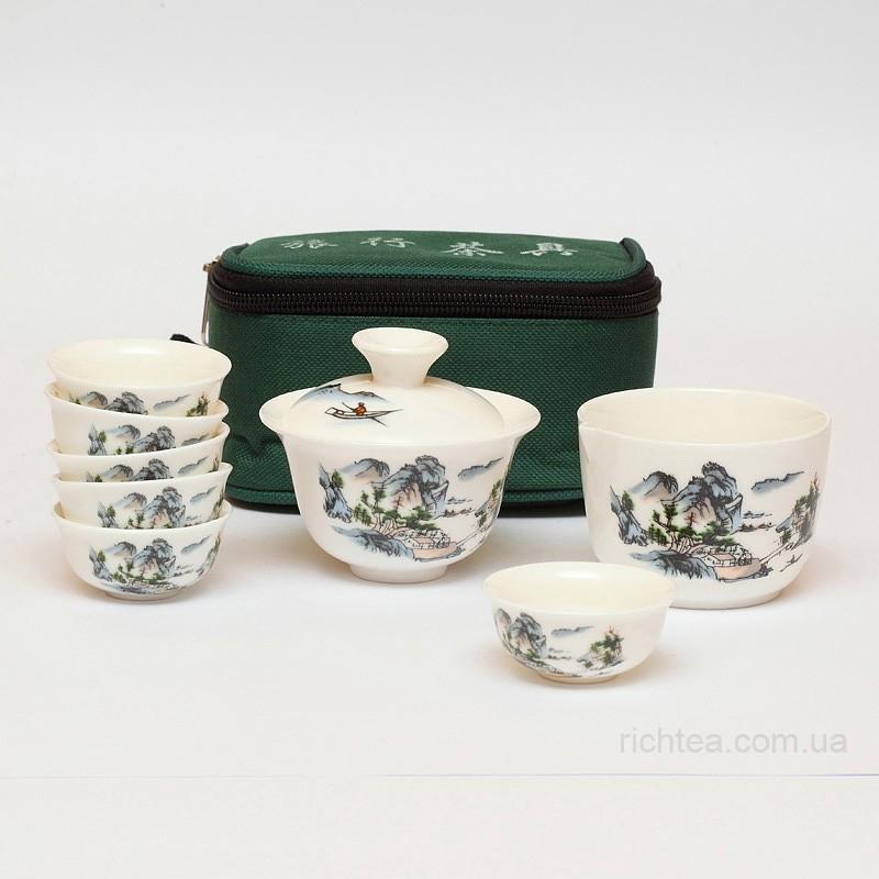 Переносной набор для чайной церемонии (мини)