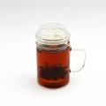 Стеклянная чашка - заварник, 400 мл