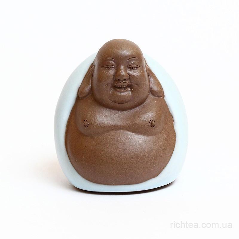 "Фигурка глиняная ""Смеющийся Будда"""