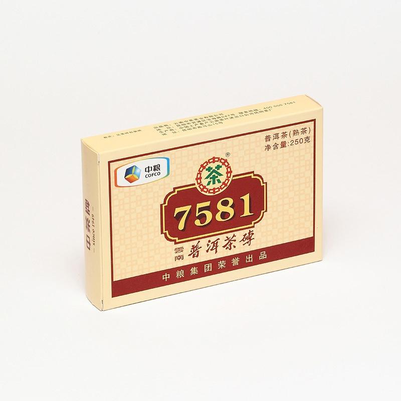"Пуэр Шу Рецепт 7581 ""China Tea"""